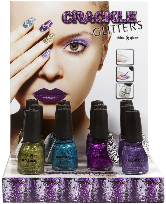 China Glaze Crackle Glitters Collection Press Release & Promo Pictures