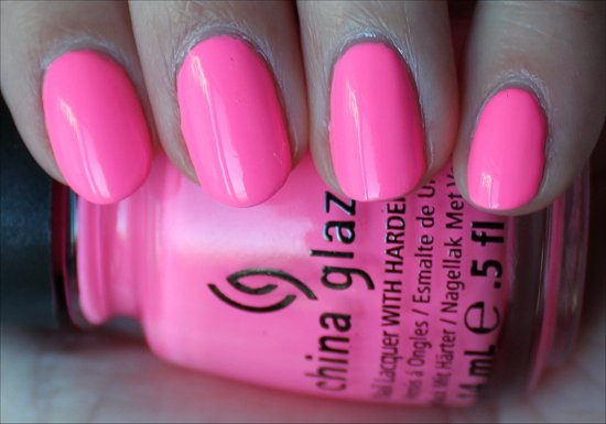 China Glaze Shocking Pink Review & Swatch