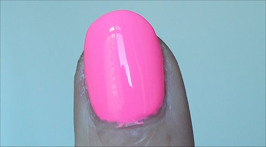 China Glaze Shocking Pink Swatches & Review