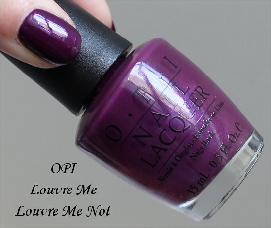 Louvre Me, Louvre Me Not OPI France Collection 2008 Swatches & Review