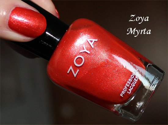 Myrta Zoya Review & Swatches