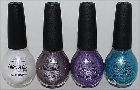 Nicole by OPI Opal Texture, Quartz Texture, Amethyst Texture & Aquamarine Texture Pictures & Swatches