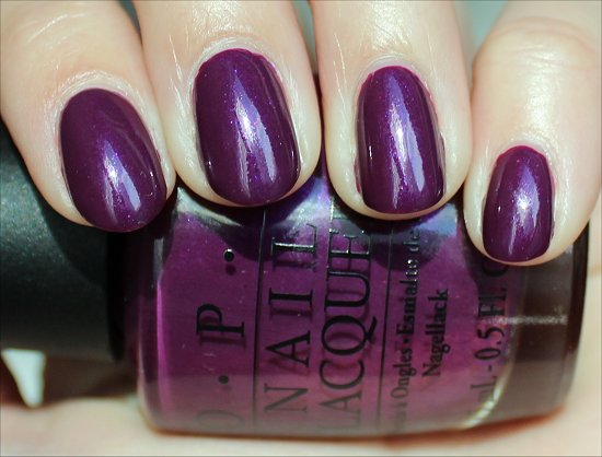OPI La Collection de France Louvre Me Louvre Me Not Swatches & Review