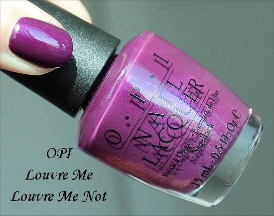 OPI Louvre Me Louvre Me Not Review & Swatches