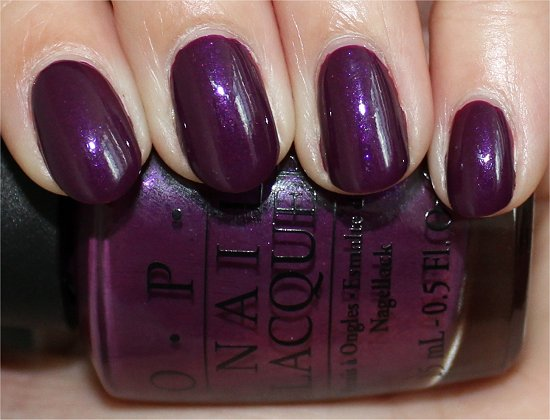 OPI Louvre Me Louvre Me Not Swatch & Review