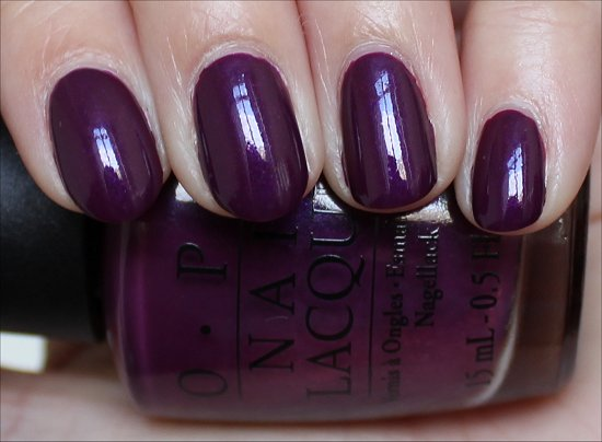 OPI Louvre Me, Louvre Me Not Swatch & Review