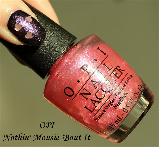 OPI Nothing Mousie About It Review, Swatch & Pics