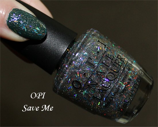 OPI Save Me Review, Photos & Swatch