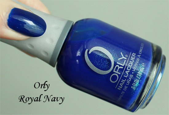 Orly Royal Navy Review, Swatches & Photos