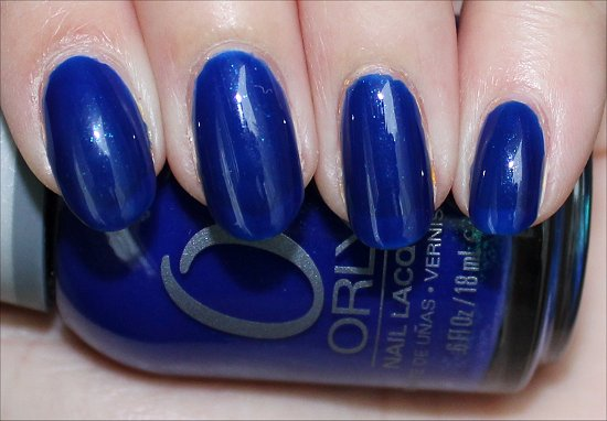 Orly Royal Navy Review, Swatches & Pics