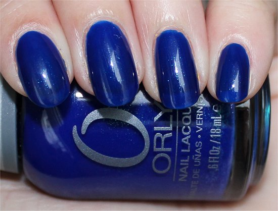 Orly Royal Navy Swatch, Review & Pictures