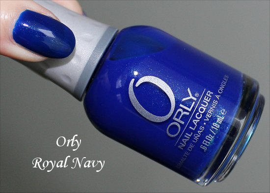 Orly Royal Navy Swatch & Review