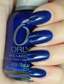 Orly Royal Navy Swatches & Review