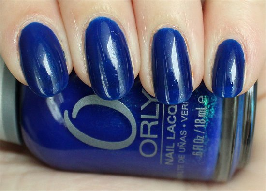 Royal Navy by Orly Swatches & Review