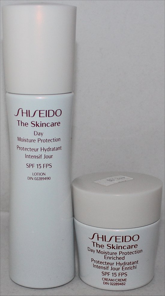 Shiseido Daytime Moisture Protection SPF 15 Lotion Review & Pictures