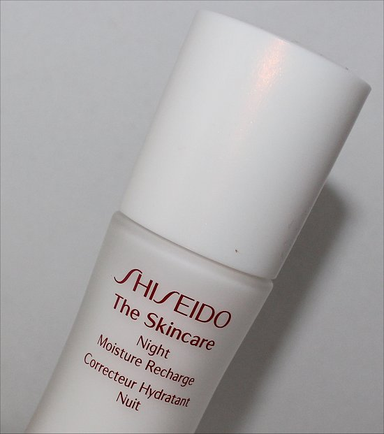 Shiseido The Skincare Night Moisture Recharge Review & Pictures