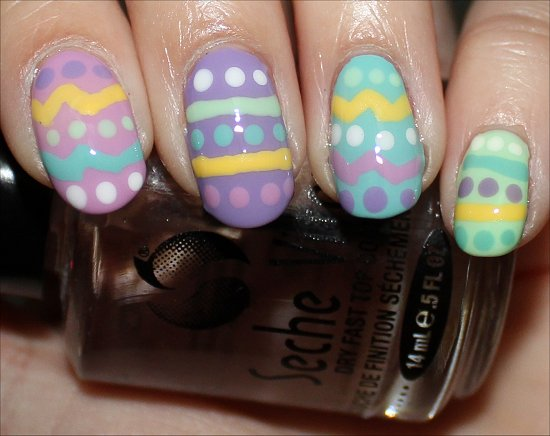 Spring Nails Nail Art Tutorial & Photos