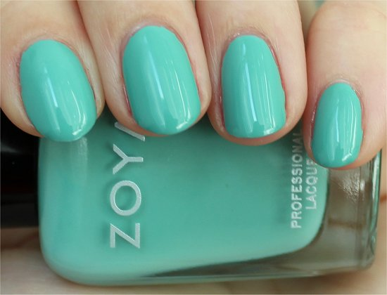 Wednesday Zoya Swatch & Review