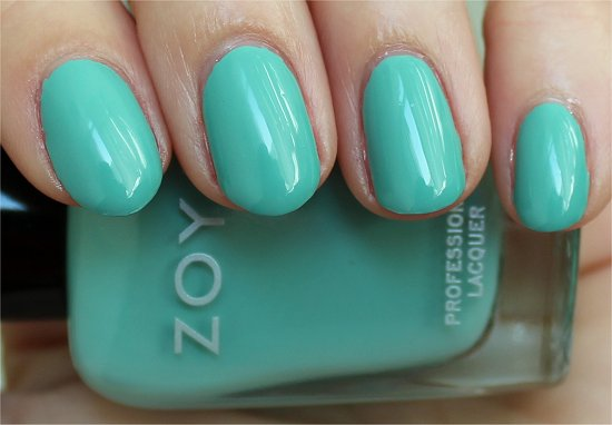 Wednesday Zoya Swatches & Review