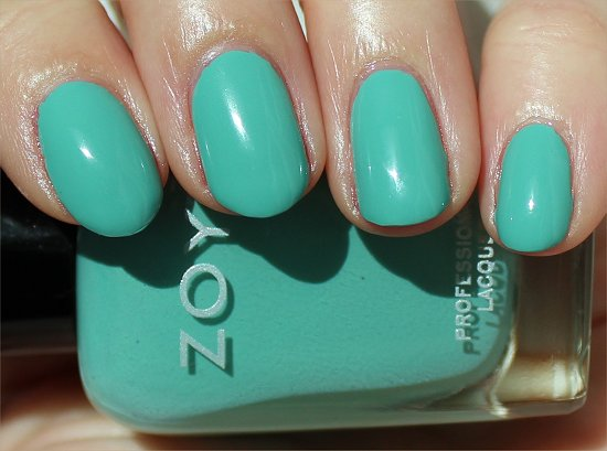 Wednesday by Zoya Beach Collection Swatches & Review