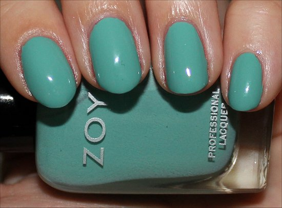 Wednesday by Zoya Surf and Beach Collection Summer 2012 Review & Swatches