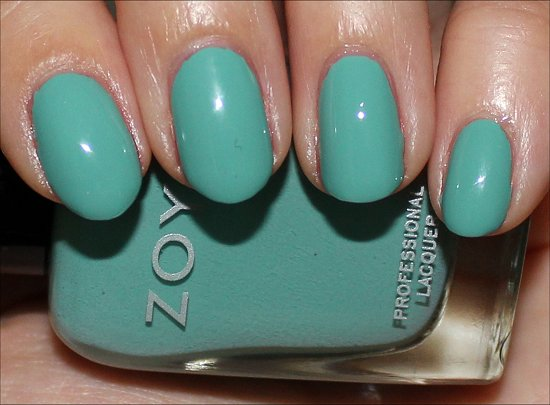 Wednesday by Zoya Surf and Beach Summer 2012 Collection Swatches & Review