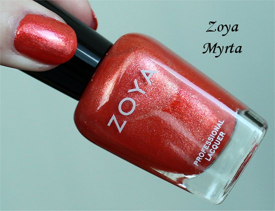 Zoya Myrta Review & Swatches
