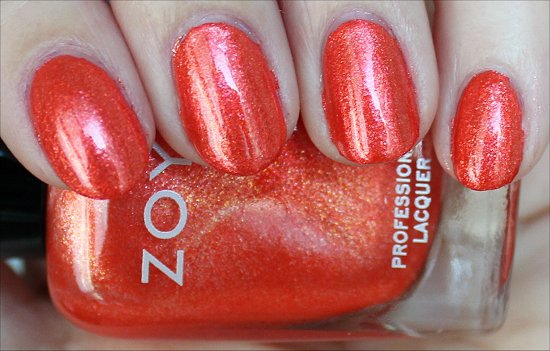 Zoya Myrta Swatches & Review