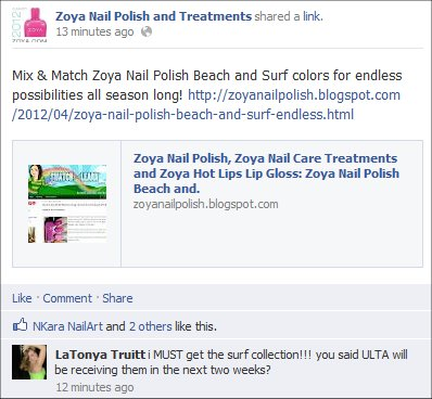 Zoya Skittle Manicure Swatch And Learn Beach & Surf Summer 2012 Collection