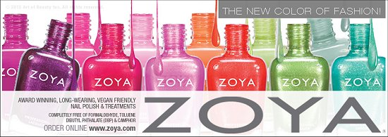 Zoya Skittle Manicure SwatchAndLearn Beach & Surf Summer 2012 Collection