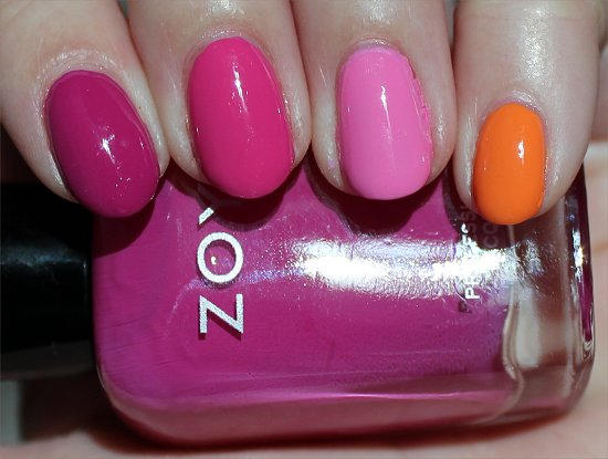 Zoya Skittle Nail Art Swatch & Pictures