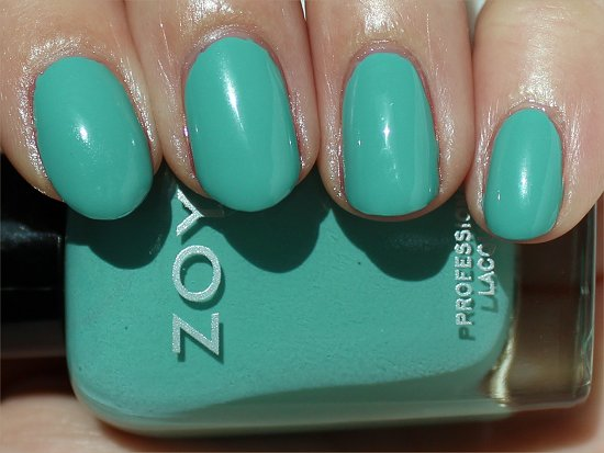 Zoya Surf & Beach Summer Collection 2012 Wednesday Swatch & Review