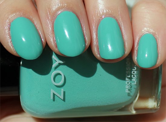 Zoya Surf and Beach Summer 2012 Collection Wednesday Swatch & Review