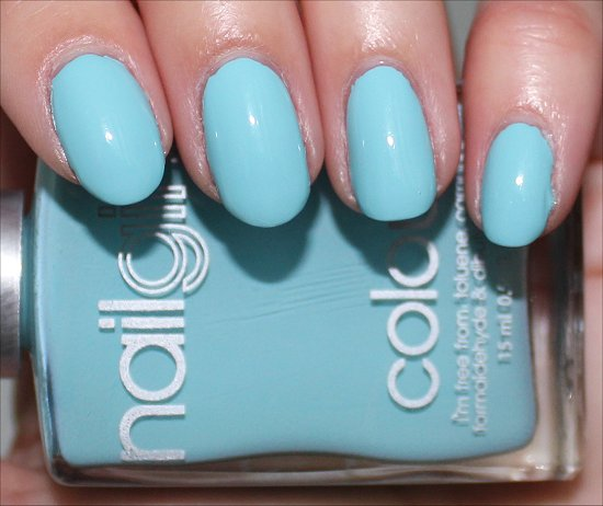 nailgirls Aqua 1 Review & Swatch