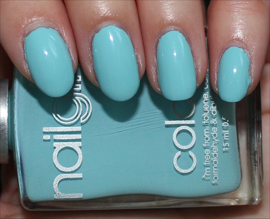 nailgirls Aqua 1 Swatch & Review