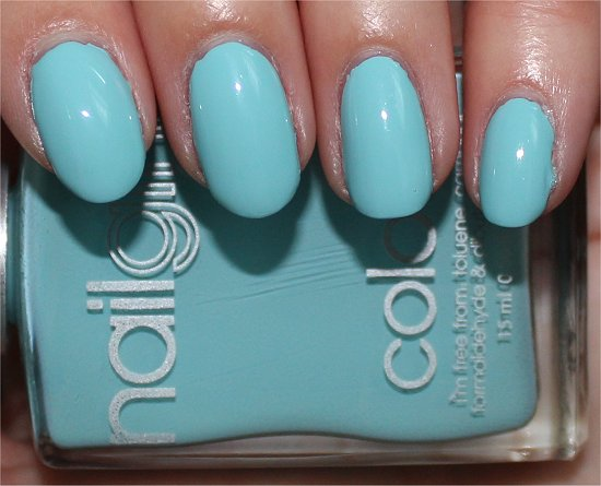 nailgirls London Aqua 1 Swatch & Review