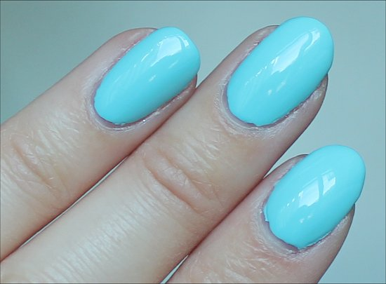 nailgirls London Aqua 1 Swatches & Review