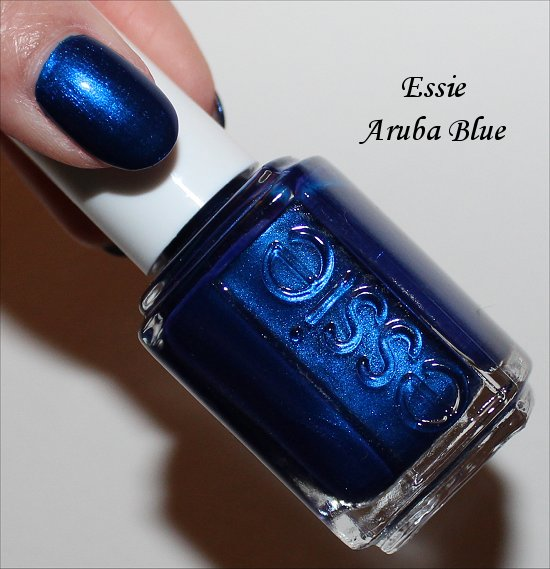 Aruba Blue by Essie Review, Swatches & Pics