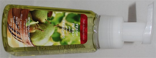 Bath & Body Works Fresh Picked Pears Anti-Bacterial Gentle Foaming Hand Soap Pictures & Review