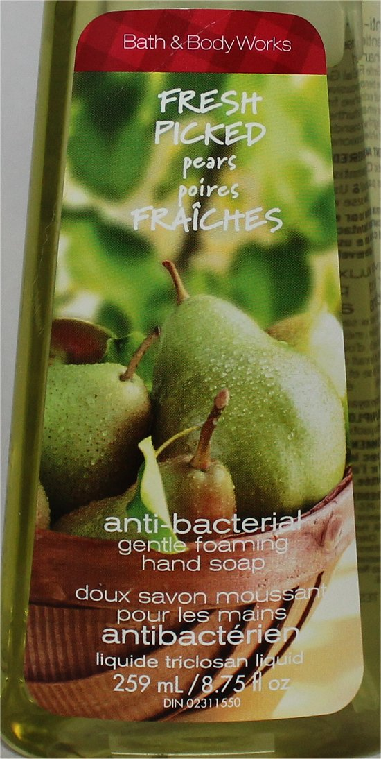 Bath and Body Works Fresh Picked Pears Soap Review & Pictures