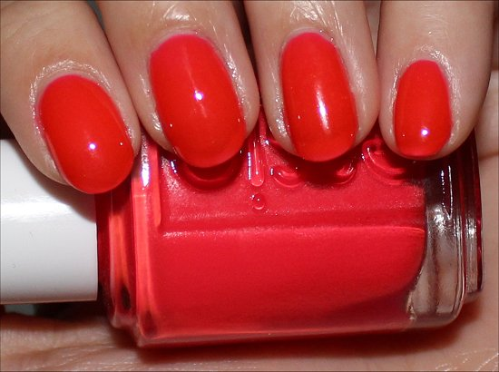 Camera by Essie Poppy Razzi Collection Review & Pictures