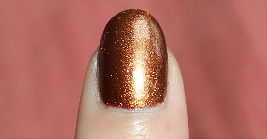 China Glaze Colours from the Capitol Swatches & Review Harvest Moon Swatch