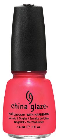 China Glaze Flirty Tankini China Glaze Summer Neons Collection Press Release & Promo Pictures