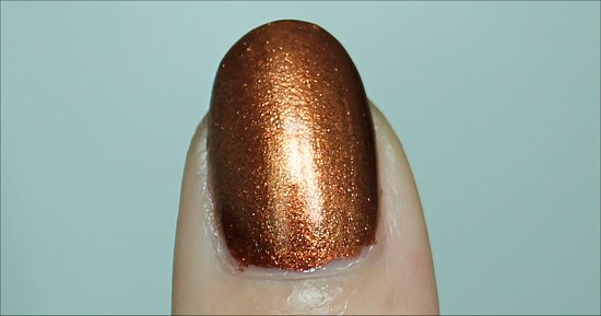 China Glaze Harvest Moon Review, Swatch & Pictures