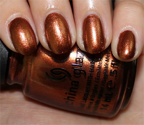 China Glaze Harvest Moon Review & Swatch