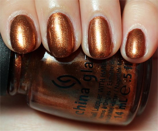 China Glaze Harvest Moon Review & Swatches