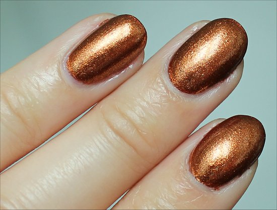 China Glaze Harvest Moon Swatch, Review & Pics