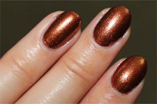 China Glaze Harvest Moon Swatch & Review