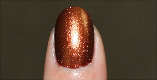 China Glaze Harvest Moon Swatches & Review