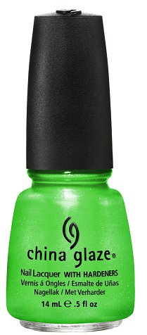 China Glaze I'm with the Lifeguard China Glaze Summer Neons Collection Press Release & Promo Pictures